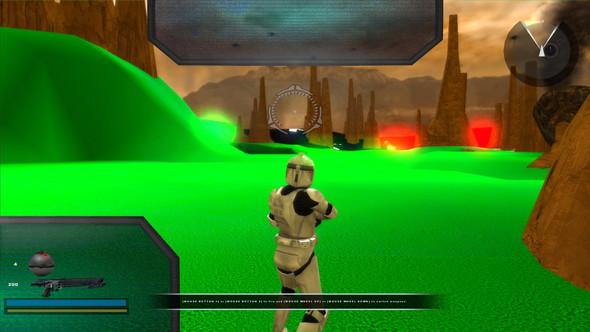 Das Terrain ist einfach mal grün - (Spiele, Gaming, Computerspiele)