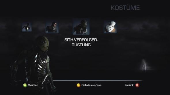 Die besagte Sith - Verfolger - Rüstung - (Star Wars, Force Unleashed, Sith - Verfolger)