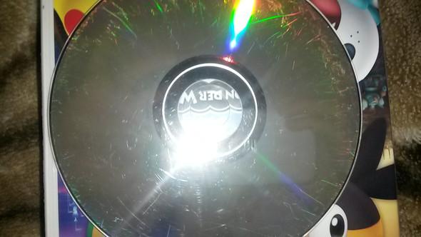 Die zerkratzte CD - (CD, verkratzt)
