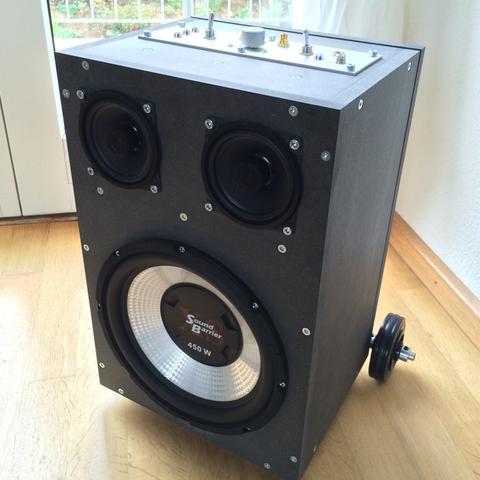 """Aktueller 10"""" Car sub 450Watt max, hält keine 50W verzerrungsfrei aus :/ - (Musik, audio, Lautsprecher)"""