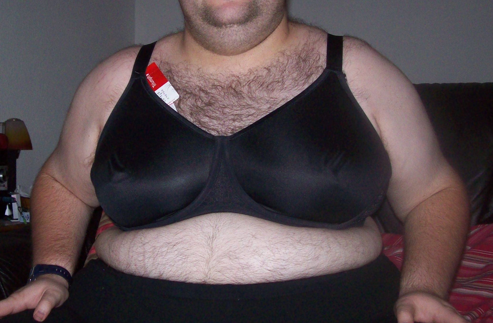 Mann tragen bh BH Größe