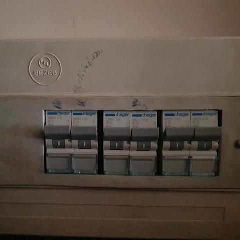 Sicherungskasten  - (Strom, Elektrik, Herd)