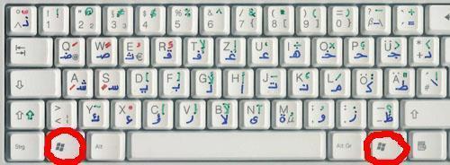 Start (Symbol auf der Tastatur) - (Computer, Software, Startmenü)