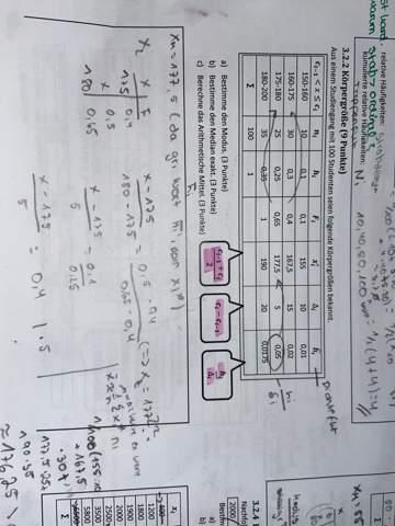 Statistik Aufgabe unklar?