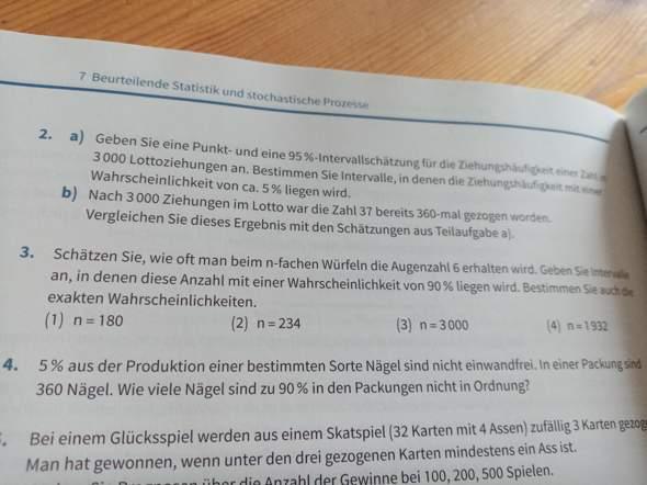 Statistik und Stochastik?