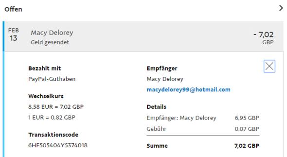 Paypal RГјckzahlung Offen Wie Lange
