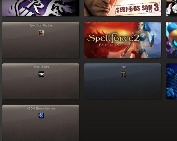 steam geteilte spiele werden nicht angezeigt