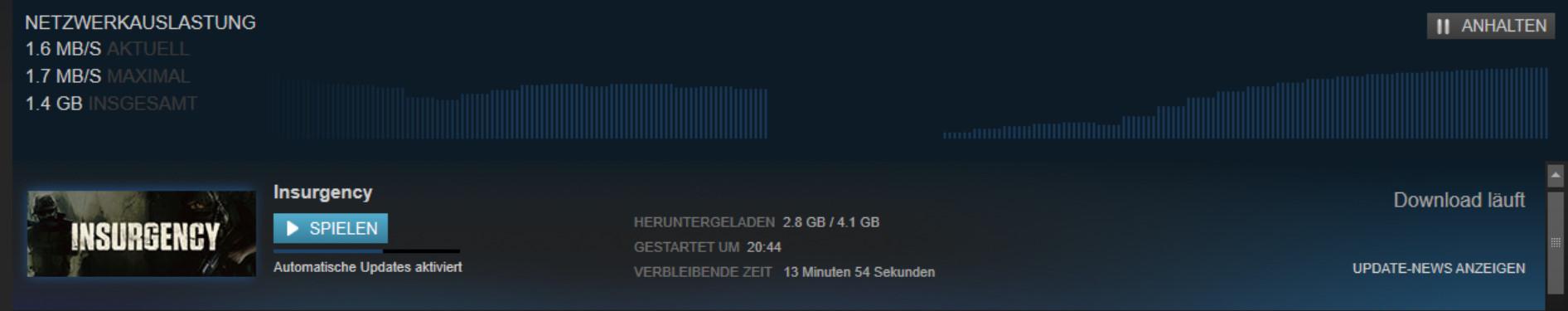 Steam Bricht Download Ab