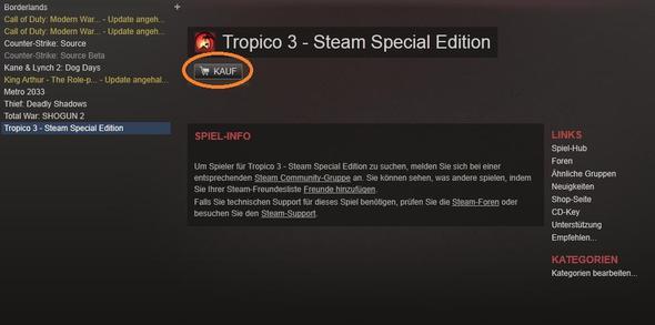 Steam klaut meine Spiele! - (Steam, klauen)