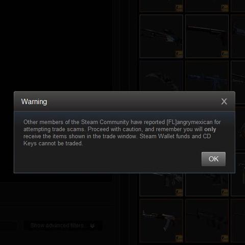Die warnug - (Steam, Warnung, Trade)