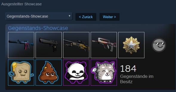 Beim Einstellen - (Steam, Showcase, Steam Showcase)