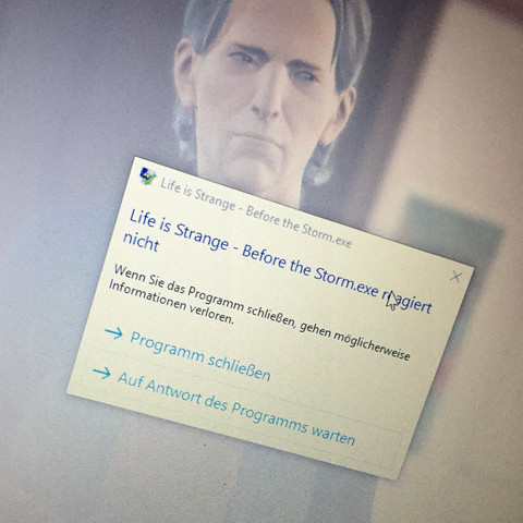 Fehlermeldung  - (Computer, PC, Spiele)