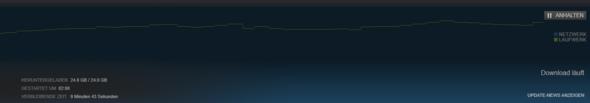 Gedownloadet, aber nicht installiert. - (Download, Steam)