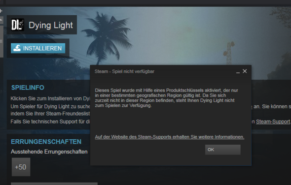 Fehler anzeige - (PC, Games, Steam)