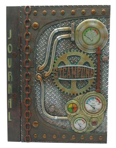 steampunk notizbuch tagebuch selber bauen oder kaufen. Black Bedroom Furniture Sets. Home Design Ideas