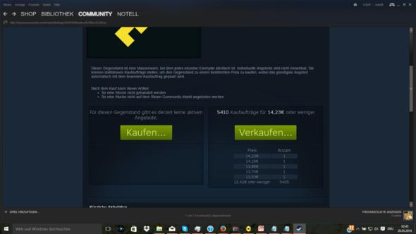 Die Communtity-Markt Seite - (Steam, unturned, Community-Markt)