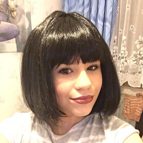 Mit perücke - (Haare, Perücke)