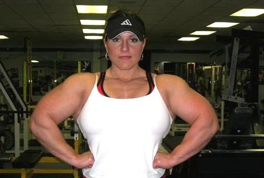 Beispiel - (Frauen, Muskulatur, bodybuilderinnen)