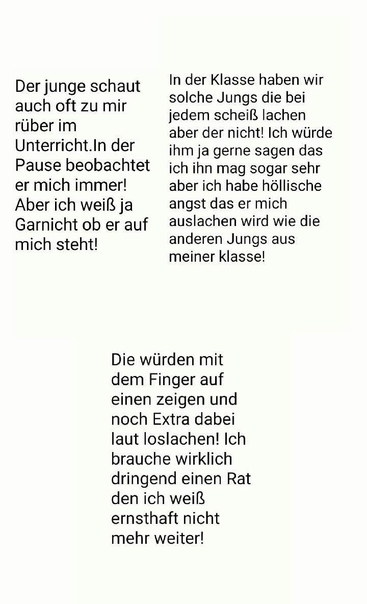 Langer text süßer langer