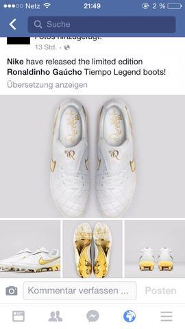 Nike Schuhe von Ronaldinho  - (Schuhe, Nike, Rarität)