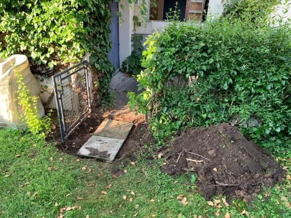 Steine im Garten verlegen / Untergrund?