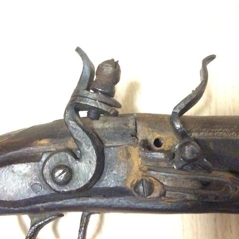Mechanismus  - (Waffen, alt, Pistole)