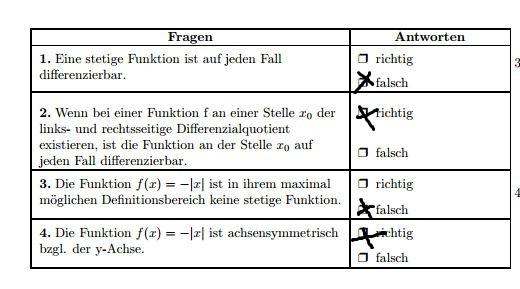 Teil 1 - (Mathematik, Gymnasium)