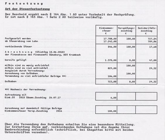 wiso steuer 2013 einkommensteuerbescheid