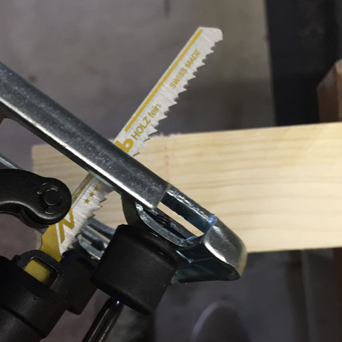 Das ist das Säge Blatt. Es wurde mir so im Baumarkt zur Säge empfohlen - (Holz, Maschine, Heimwerker)