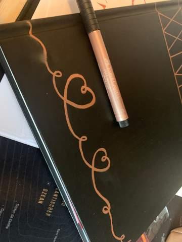 Stift verschmiert was soll ich tun?
