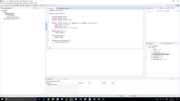 Klasse 1 - (programmieren, Informatik, Java)