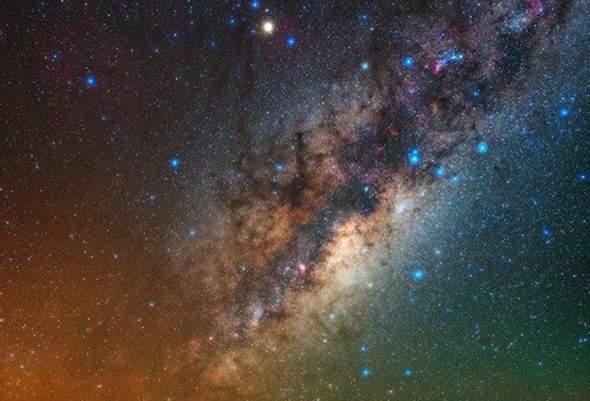 Stimmt das? Sieht man in Wirklichkeit das All nicht wie in Filmen mit vielen Sternen....?