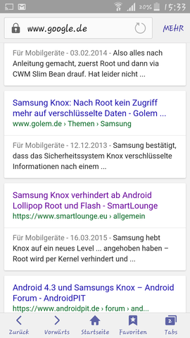 Handy - (Handy, android 5.0)
