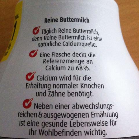 Buttermilch  - (Medizin, Ernährung, Arzt)