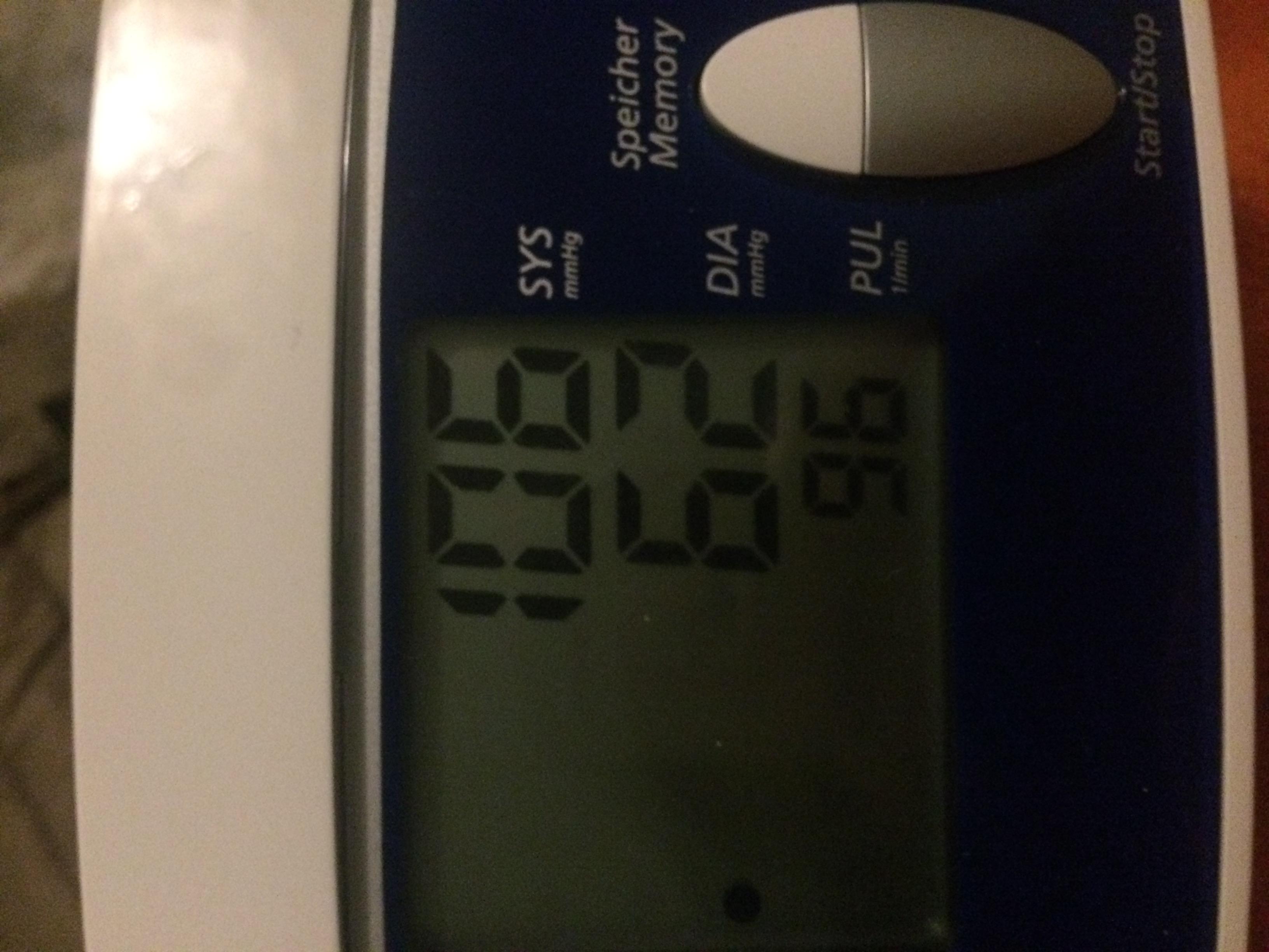 Stimmt das wenn der Blutdruck zu niedrig ist ein hoher..