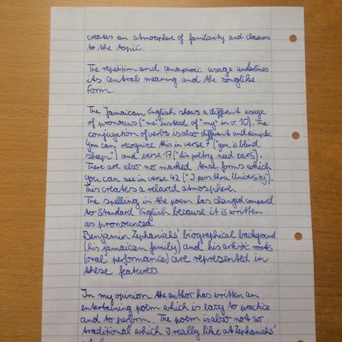 Teil 2 - (Schule, Englisch, Text)