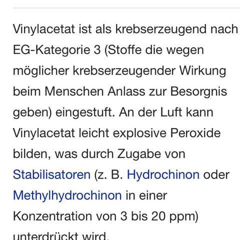 Vinyl - (Kinder, Chemie, giftig)