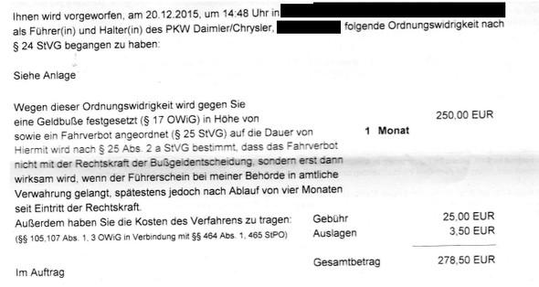 Strafe - (Polizei, Strafe, Rechtsanwalt)