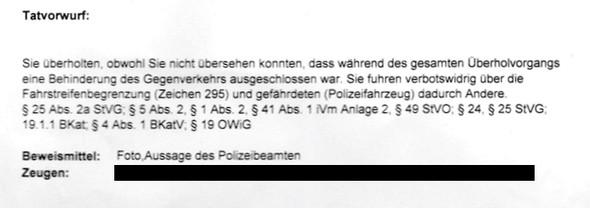 Tatvorwurf - (Polizei, Strafe, Rechtsanwalt)