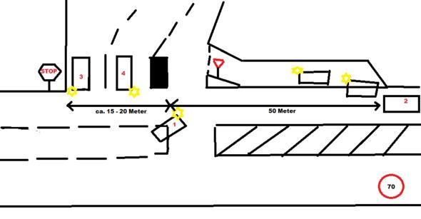 Vor dem Unfall - (Strafe, Verkehrsrecht)