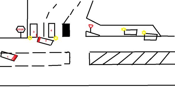 Nach dem Unfall - (Strafe, Verkehrsrecht)