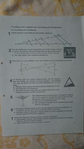 Hier ist das arbeitsblatt ... Aufgabe 3 - (Schule, Mathe)
