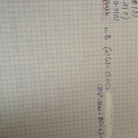 Ich bin mir aber nicht sicher wie ich diese Gleichung jetzt auflösen soll - (Mathe, Funktion, Rechnen)