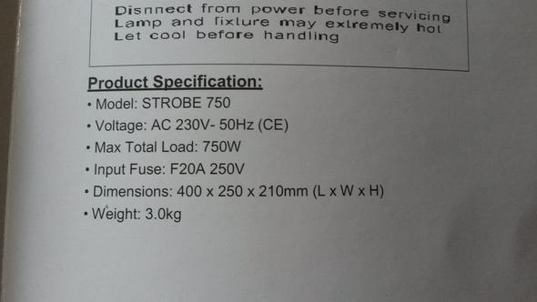 Informationen aus der Anleitung - (Physik, Elektronik, Strom)