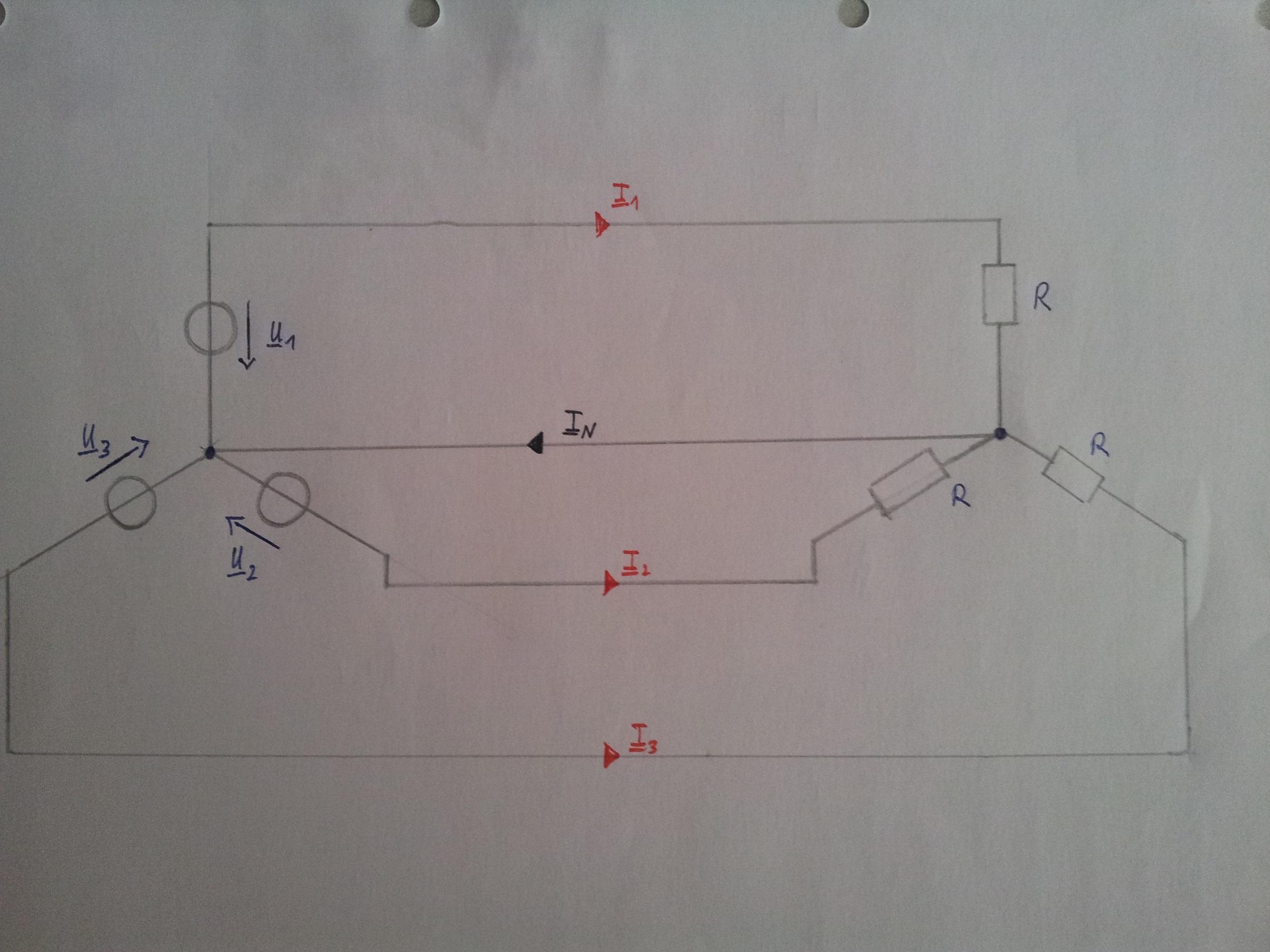 Ströme im Mehr- / Dreiphasensystem (Strom, Elektrotechnik, Drehstrom)