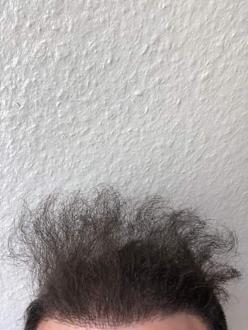 Strohige Haare oder trockene Haare?