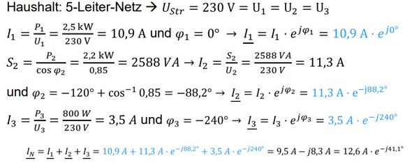 Strom berechnen (Außenleiter/Neutralleiter)? (Technik, Technologie ...