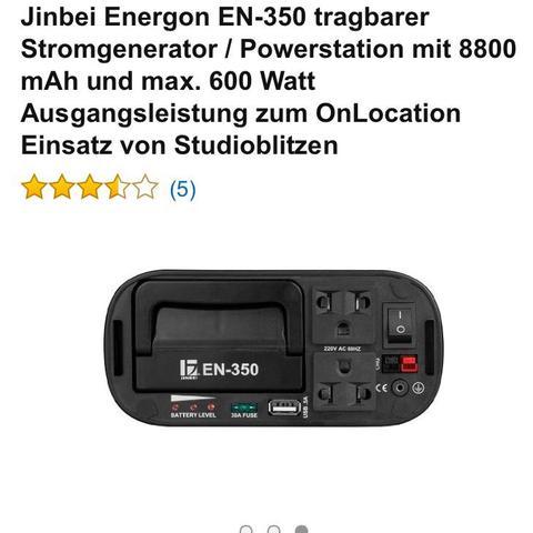 Generator mit Akku bei Amazon für 299€ - (Elektronik, Party, Amazon)