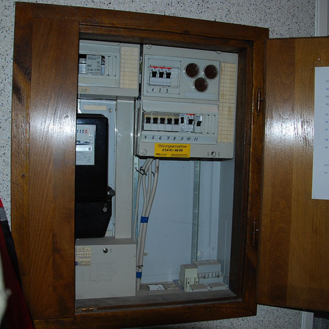 Verteilerkasten  - (Finanzen, Strom, Stromzähler)