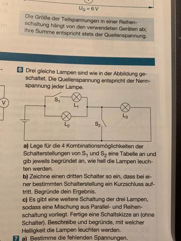Stromkreis und Schaltungen?